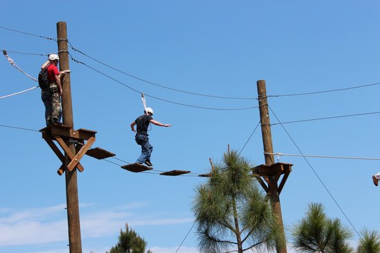 ropes challenge course
